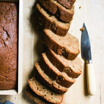 Best Sourdough Zucchini Bread