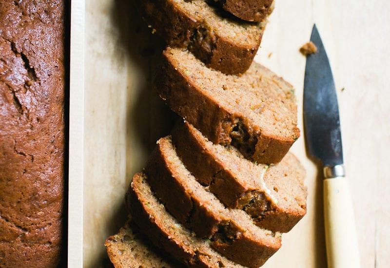 Best Sourdough Zucchini Bread Slices