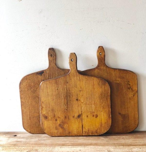 European Vintage Wood Bread Board