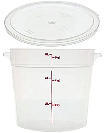 Cambro dough proofing container with lid